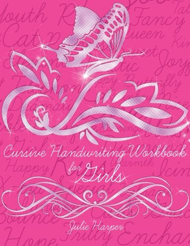 Cursive Handwriting Workbook for Girls