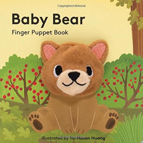 Baby Bear: Finger Puppet Book (Finger Puppet Books)