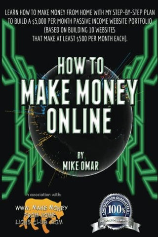 How to Make Money Online: Learn how to make money from home with my step-by-step plan to build a $5000 per month passive income website portfolio
