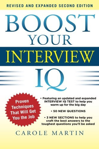 Boost Your Interview IQ 2/E (Business Books)