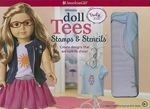 Doll Tees and Tanks: Stencils and Stamps: Create designs that are sure to shine! (American Girl)