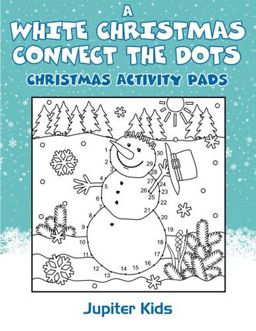 A White Christmas Connect The Dots: Christmas Activity Pads