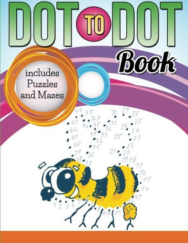 Dot To Dot Book includes Puzzles and Mazes