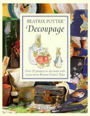 Beatrix Potter Decoupage Book (Peter Rabbit)