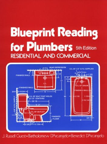Blueprint Reading for Plumbers in Residential & Commercial (Blueprint Reading Series)