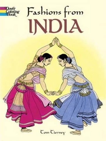 Fashions from India (Dover Fashion Coloring Book)
