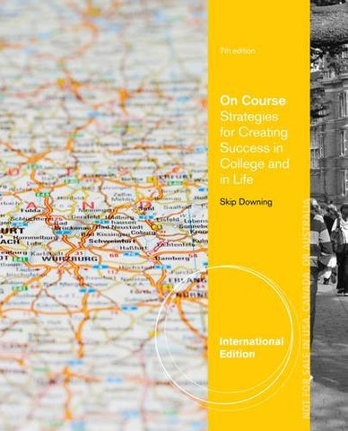 On Course: Strategies for Creating Success in College and in Life (Textbook-specific CSFI)