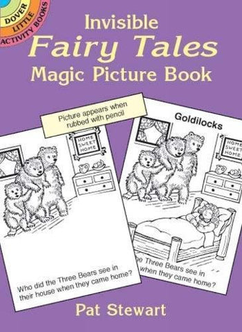 Invisible Fairy Tales Magic Picture Book (Dover Little Activity Books)