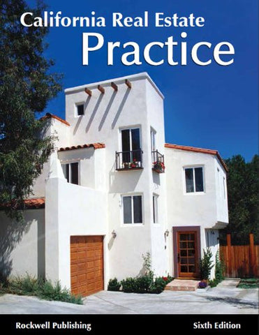 California Real Estate Practices - 6th edition