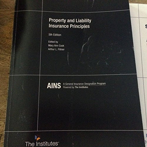 PROPERTY+LIABILITY INSURANCE PRINCIPLES