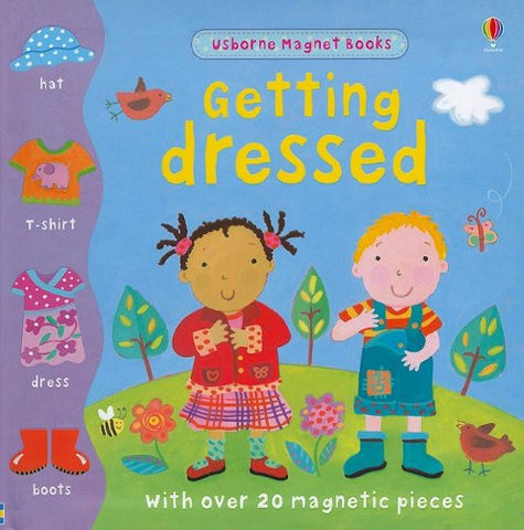 Getting Dressed Magnet Book (Magnet Books)