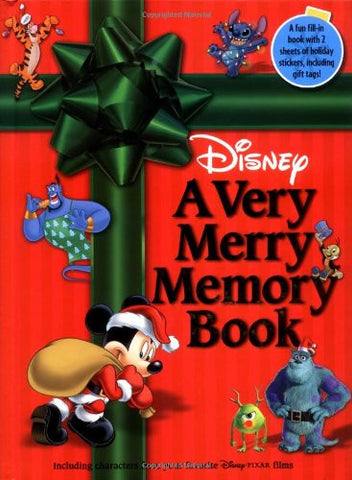 Disney: A Very Merry Memory Book
