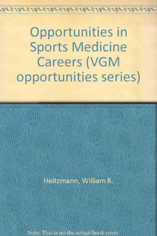 Opportunities in Sports Medicine Careers