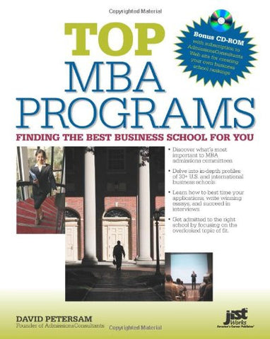Top MBA Programs W/CD-ROM: Finding the Best Business School for You
