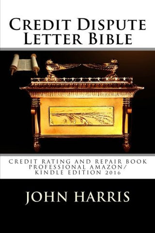 Credit Dispute Letter Bible