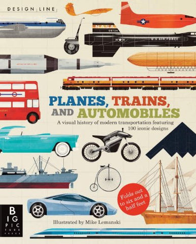 Design Line: Planes, Trains, and Automobiles