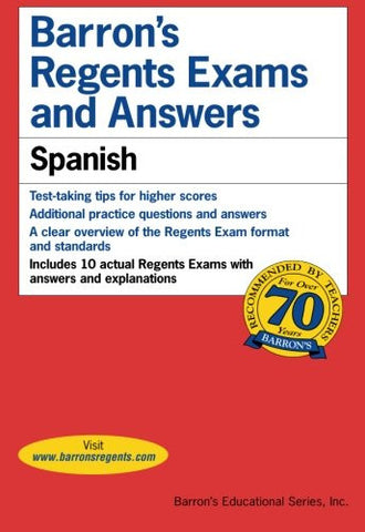 Barron's Regents Exams and Answers: Spanish