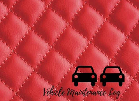 Vehicle Maintenance Log: Car Maintenance - Repair Log Book Journal. Log Date, Mileage, Repairs And Maintenance. Notebook With 100 Pages. (Auto Boo