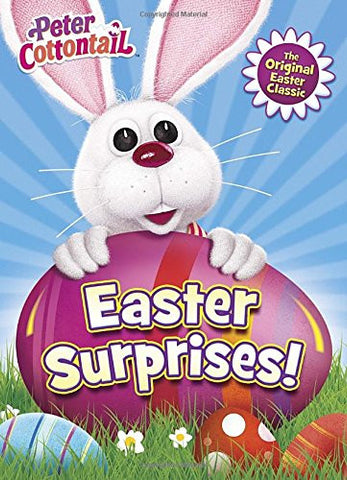 Easter Surprises! (Peter Cottontail) (Deluxe Coloring Book)