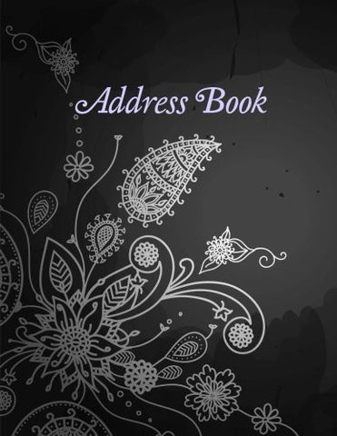Address Book (Beautiful and Simple Address Books-Jumbo Size Floral Paisley) (Volume 1)