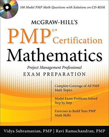 McGraw-Hill's PMP Certification Mathematics with CD-ROM (PreTest)
