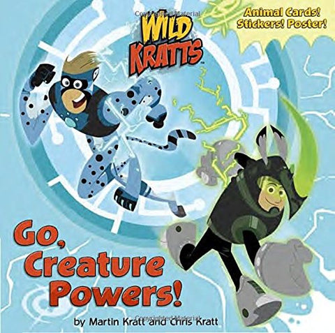 Go, Creature Powers! (Wild Kratts) (Super Deluxe Pictureback)