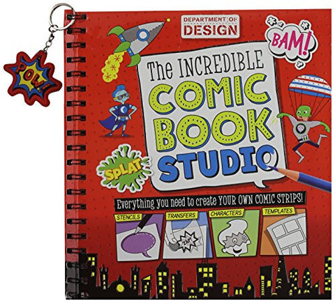 Activity Books: The Incredible Comic Book Studio