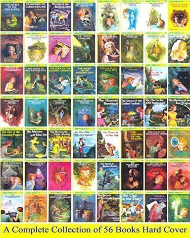 Nancy Drew Complete Set 1-56 (Nancy Drew Mystery Stories)