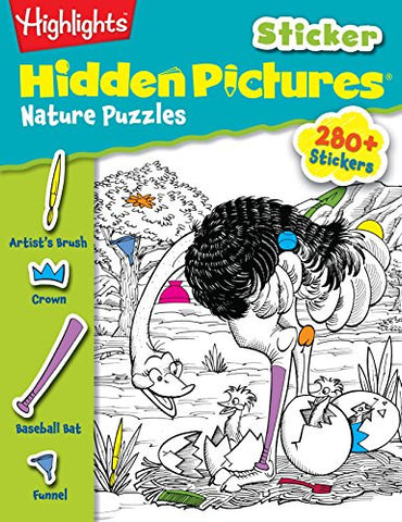 Highlights Sticker Hidden Pictures® Nature Puzzles (Sticker Hidden Pictures#174;)
