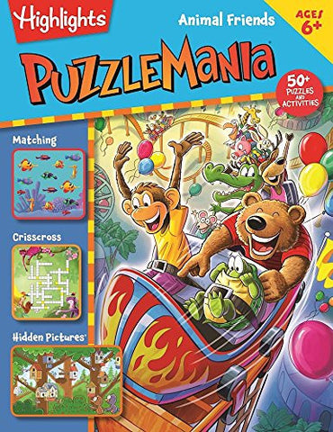 Animal Friends (Puzzlemania#174; Activity Books)