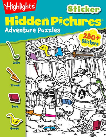 Highlights Sticker Hidden Pictures® Adventure Puzzles (Sticker Hidden Pictures®)