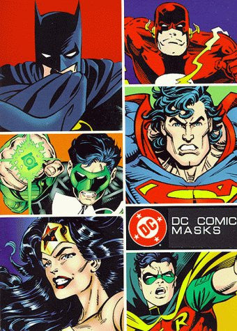 DC Comics Masks: Nine Masks of DC Comics Heroes and Villains to Assemble and Wear