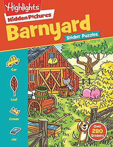 Highlights Sticker Hidden Pictures® Barnyard Puzzles