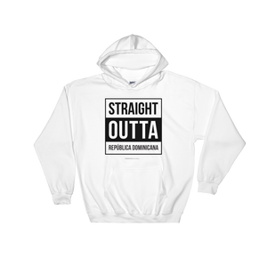 Straight Outta República Dominicana Unisex Hoodie  - 2020 - DominicanGirlfriend.com - Frases Dominicanas - República Dominicana Lifestyle Graphic T-Shirts Streetwear & Accessories - New York - Bronx - Washington Heights - Miami - Florida - Boca Chica - USA - Dominican Clothing