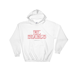 El Diablo Unisex Hoodie  - 2020 - DominicanGirlfriend.com - Frases Dominicanas - República Dominicana Lifestyle Graphic T-Shirts Streetwear & Accessories - New York - Bronx - Washington Heights - Miami - Florida - Boca Chica - USA - Dominican Clothing