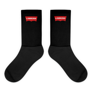 Lambona Socks  - 2020 - DominicanGirlfriend.com - Frases Dominicanas - República Dominicana Lifestyle Graphic T-Shirts Streetwear & Accessories - New York - Bronx - Washington Heights - Miami - Florida - Boca Chica - USA - Dominican Clothing
