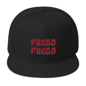 Fuego Snapback  - 2020 - DominicanGirlfriend.com - Frases Dominicanas - República Dominicana Lifestyle Graphic T-Shirts Streetwear & Accessories - New York - Bronx - Washington Heights - Miami - Florida - Boca Chica - USA - Dominican Clothing