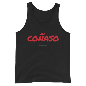 Coñaso Tank Top  - 2020 - DominicanGirlfriend.com - Frases Dominicanas - República Dominicana Lifestyle Graphic T-Shirts Streetwear & Accessories - New York - Bronx - Washington Heights - Miami - Florida - Boca Chica - USA - Dominican Clothing