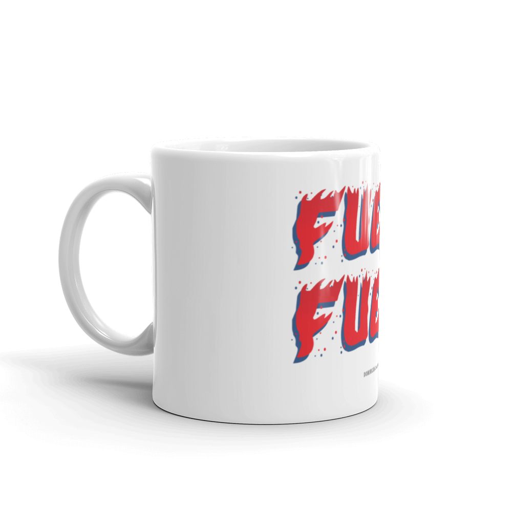 Fuego Mug  - 2020 - DominicanGirlfriend.com - Frases Dominicanas - República Dominicana Lifestyle Graphic T-Shirts Streetwear & Accessories - New York - Bronx - Washington Heights - Miami - Florida - Boca Chica - USA - Dominican Clothing