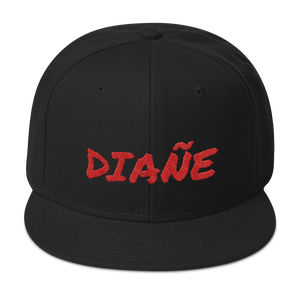 Diañe Snapback Hat  - 2020 - DominicanGirlfriend.com - Frases Dominicanas - República Dominicana Lifestyle Graphic T-Shirts Streetwear & Accessories - New York - Bronx - Washington Heights - Miami - Florida - Boca Chica - USA - Dominican Clothing