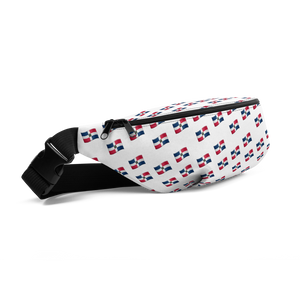 All-Over Emoji República Dominicana Flag Fanny Pack  - 2020 - DominicanGirlfriend.com - Frases Dominicanas - República Dominicana Lifestyle Graphic T-Shirts Streetwear & Accessories - New York - Bronx - Washington Heights - Miami - Florida - Boca Chica - USA - Dominican Clothing