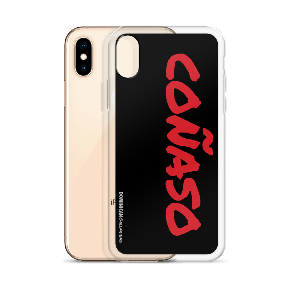 Coñaso iPhone Case  - 2020 - DominicanGirlfriend.com - Frases Dominicanas - República Dominicana Lifestyle Graphic T-Shirts Streetwear & Accessories - New York - Bronx - Washington Heights - Miami - Florida - Boca Chica - USA - Dominican Clothing