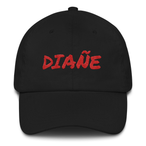 Diañe Dad Hat  - 2020 - DominicanGirlfriend.com - Frases Dominicanas - República Dominicana Lifestyle Graphic T-Shirts Streetwear & Accessories - New York - Bronx - Washington Heights - Miami - Florida - Boca Chica - USA - Dominican Clothing