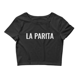 La Parita Crop Top  - 2020 - DominicanGirlfriend.com - Frases Dominicanas - República Dominicana Lifestyle Graphic T-Shirts Streetwear & Accessories - New York - Bronx - Washington Heights - Miami - Florida - Boca Chica - USA - Dominican Clothing