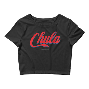 Chula Crop Top  - 2020 - DominicanGirlfriend.com - Frases Dominicanas - República Dominicana Lifestyle Graphic T-Shirts Streetwear & Accessories - New York - Bronx - Washington Heights - Miami - Florida - Boca Chica - USA - Dominican Clothing