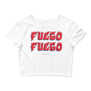 Women's Crop Top  - 2020 - DominicanGirlfriend.com - Frases Dominicanas - República Dominicana Lifestyle Graphic T-Shirts Streetwear & Accessories - New York - Bronx - Washington Heights - Miami - Florida - Boca Chica - USA - Dominican Clothing