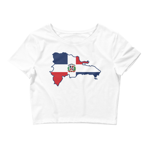 Republica Dominicana  Crop Top  - 2020 - DominicanGirlfriend.com - Frases Dominicanas - República Dominicana Lifestyle Graphic T-Shirts Streetwear & Accessories - New York - Bronx - Washington Heights - Miami - Florida - Boca Chica - USA - Dominican Clothing
