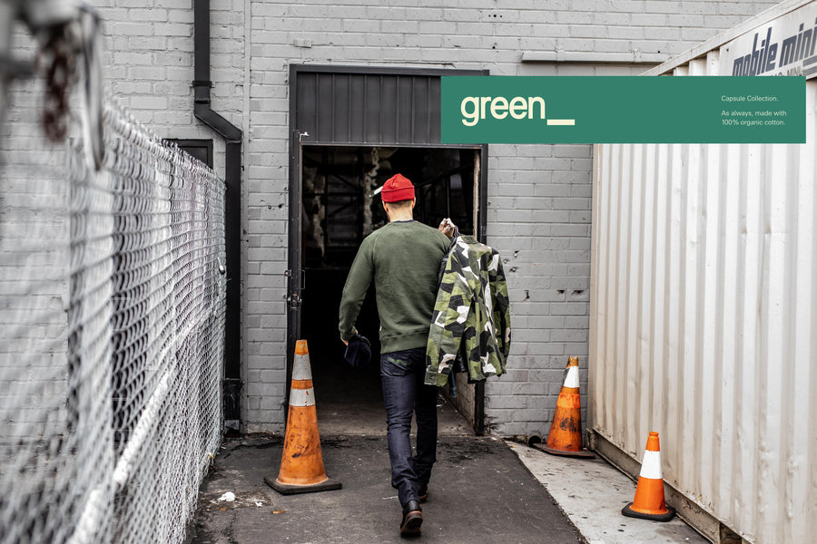 Blog Post No. 14 - Nudie green_ capsule
