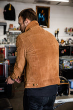 Eat Dust x Lewis Leathers - Limited Edition 988 Western Type III - Gold Suede