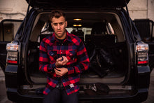 Eat Dust - Cozy Cozy Western Flannel - Red